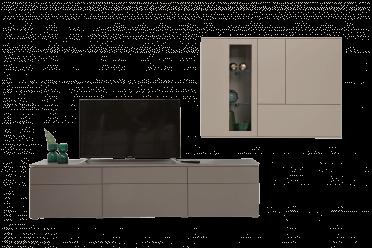 Merano Wohnwand Lowboard mit Haengelement